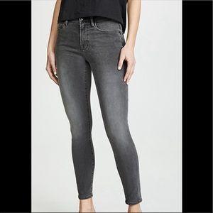Frame High Skinny Black Wash Jeans